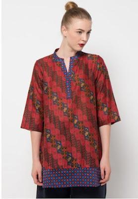 baju batik wanita danar hadi