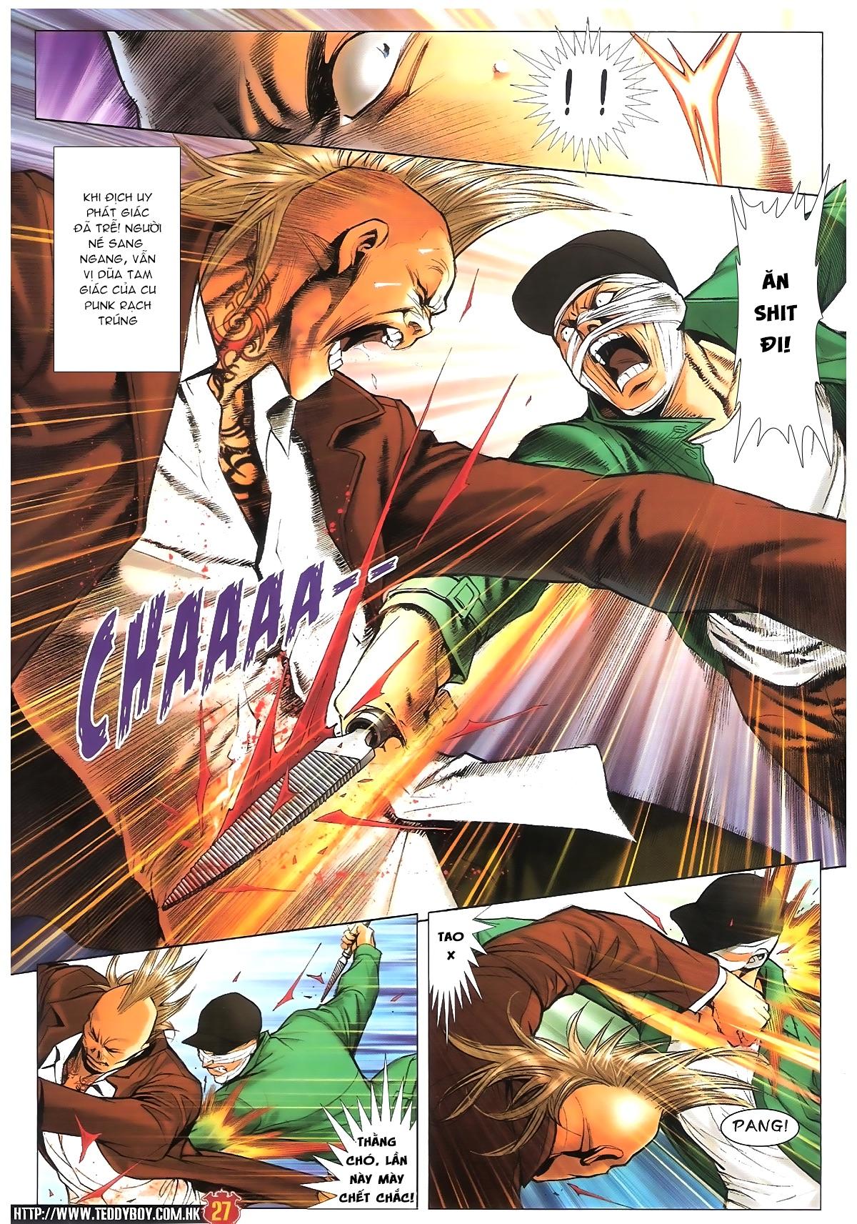Người Trong Giang Hồ - Chapter 1597: Tắm máu Quyền Đầu Bar - Pic 24