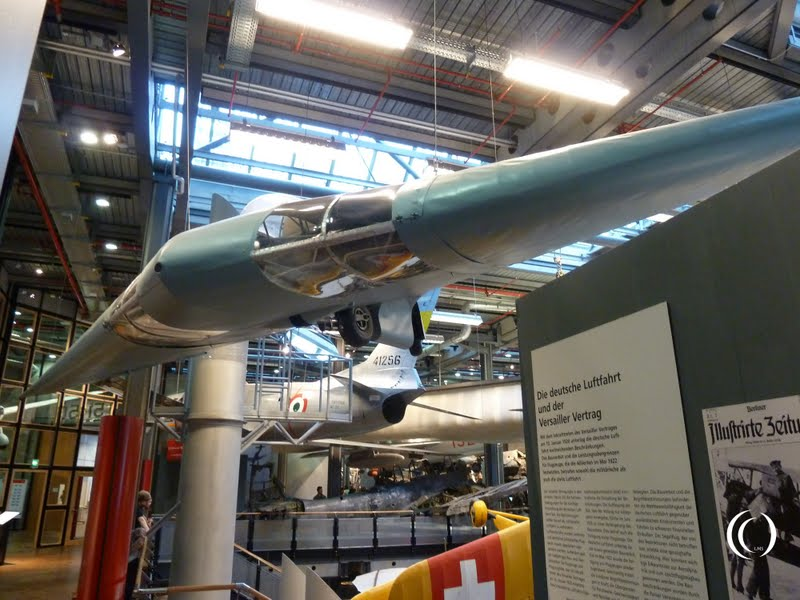 Horten Ho II L Habicht in Deutsches Technikmuseum Berlin