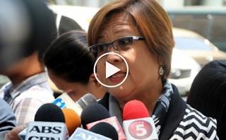 De Lima: Wag sana akong ilagay sa Bartolina