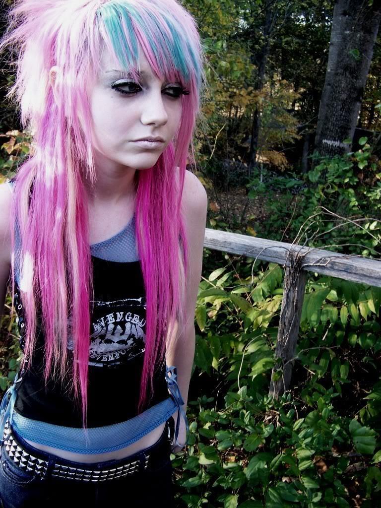 emo punk hairstyle cool – wodip