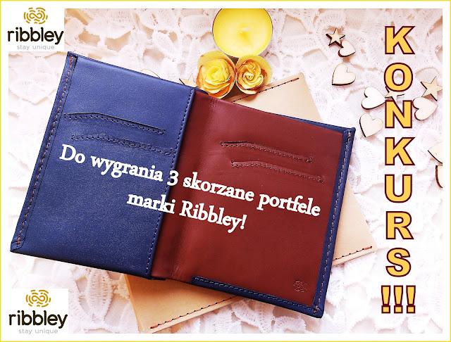 Konkurs!!! Do wygrania 3 skórzane portfele marki Ribbley!