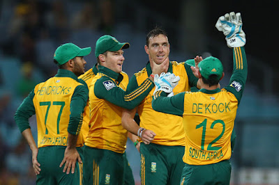 Kyle Abbott Took Four Wickets For South Africa