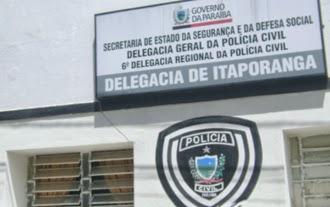 Resultado de imagem para fotos delegacia de itaporanga pb