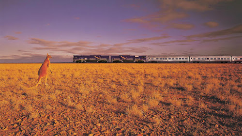 Indian Pacific - Trans Australian Railway