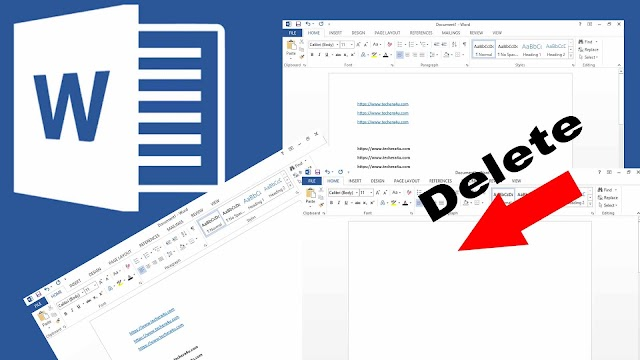 How To Delete Page In Word-Best Trick