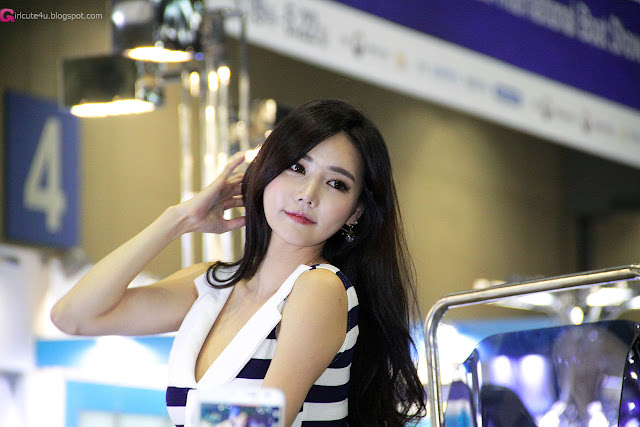 1 Han Ga Eun 2016 Korea International Boat Show - very cute asian girl-girlcute4u.blogspot.com