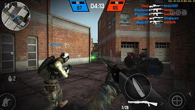 لعبة Bullet Force للأندرويد، لعبة Bullet Force مدفوعة للأندرويد