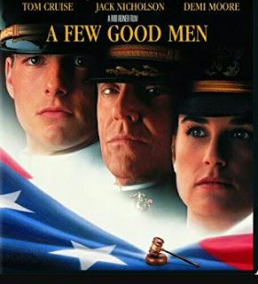 Movie - A Few Good Men (Demi Moore, Jack Nicholson, Tom Cruise)