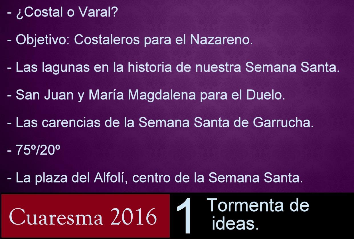 Blog capilla del mar garrucha almer a temas cuaresma - Trabajo en garrucha ...