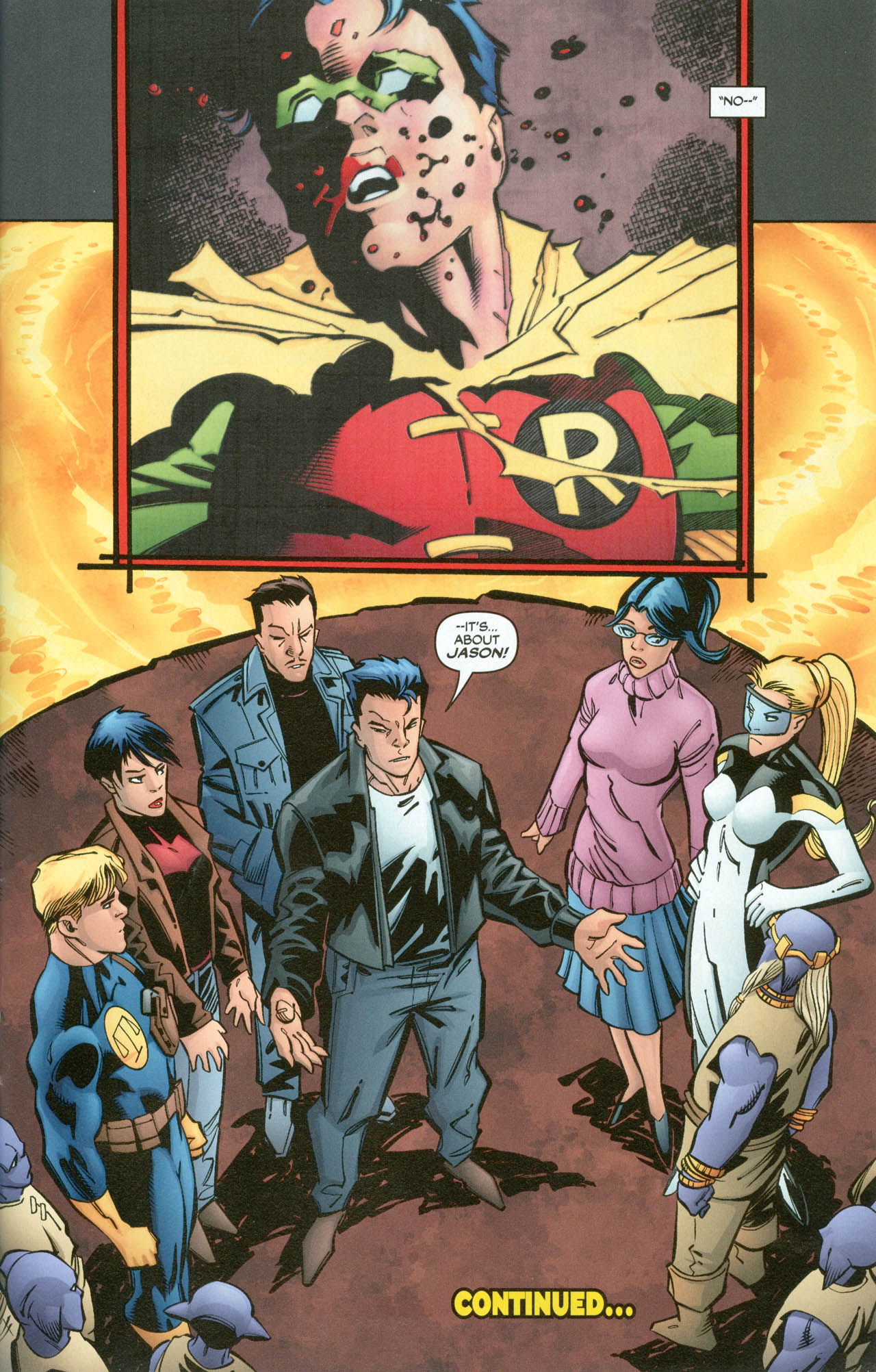 Read online Trinity (2008) comic -  Issue #31 - 34