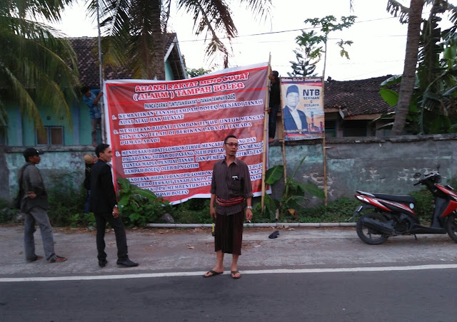 Lawan Perusahaan, Masyarakat Gugat Perusahaan Lewat Baliho