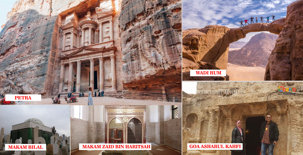 Dokumentasi Tour Jordan Cheria Holiday
