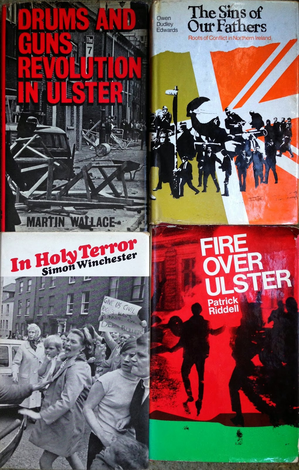 Northern Ireland, Ulster Troubles, Political Literature