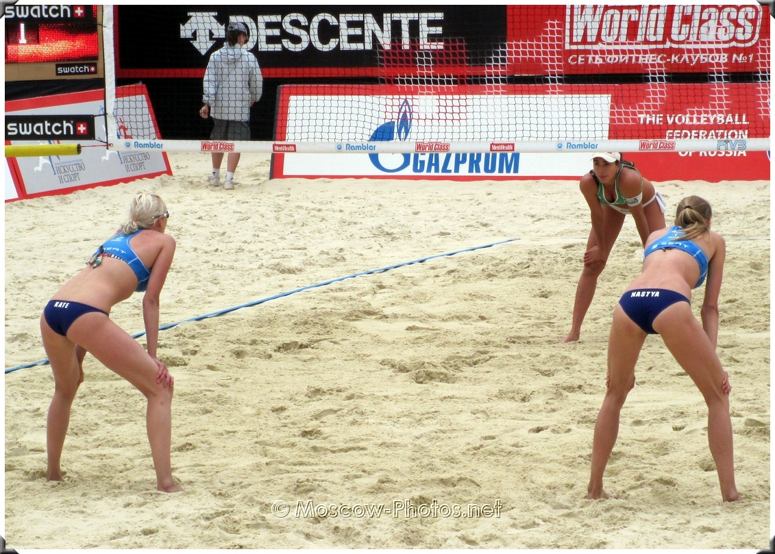 Anastasia Vasina, Ekaterina Khomyakova - BEACH VOLLEYBALL BACK LINE PLAYERS