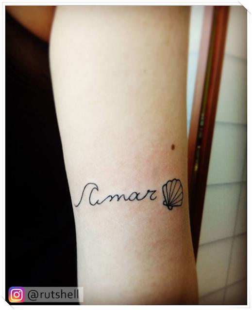Inspirações: Tattoos com conchas - Perolando