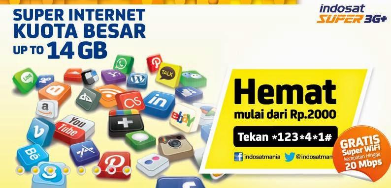 Paket Internet Indosat IM3 Terbaru