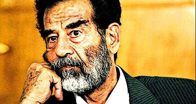 """""""नपुंसकता दिवस पर पूरे विश्व को सद्दाम हुसैन की तरफ से लानत"""""""