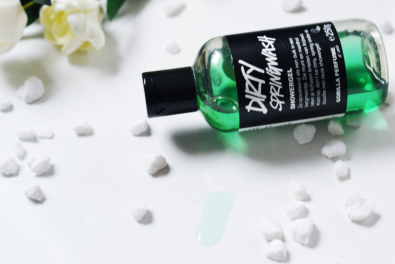 Lush, dirty springwash, shower gel, belgian fashion blogger, belgische mode blogger