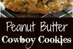 Peanut Butter Cowboy Cookies