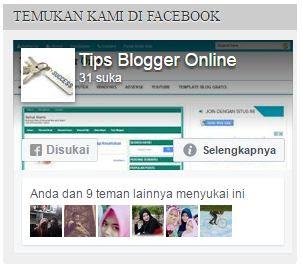 widget fanspage fb