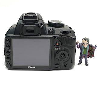 Kamera DSLR Nikon D3100 Bekas