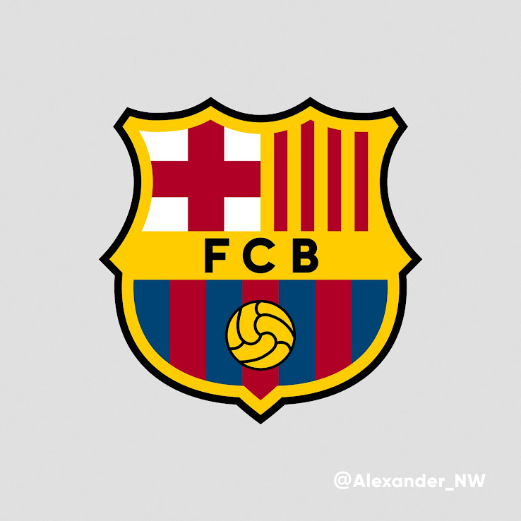 Better New Barcelona Logo Concept By Alexander Norrthon Leaked Soccer
