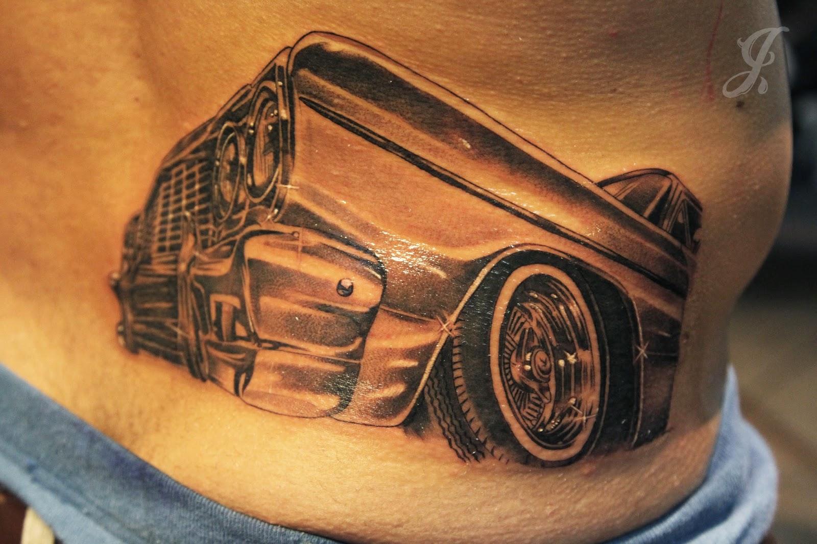 64 Impala Lowrider Tattoo