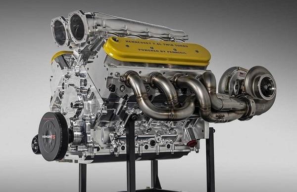 motor del Hennessey Venom F5