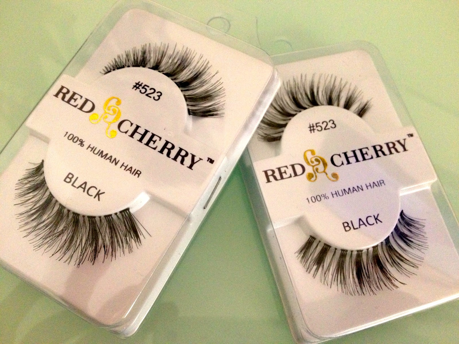 Red Cherry False Eyelashes Haul Kellilash
