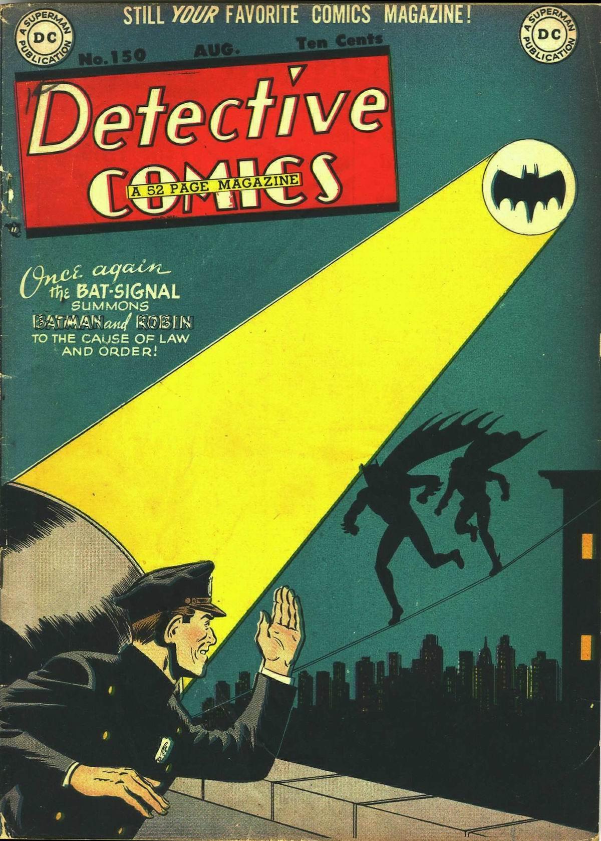 Read online Detective Comics (1937) comic -  Issue #150 - 1
