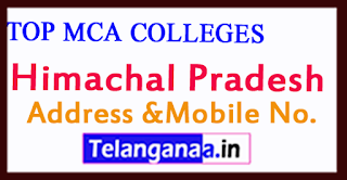 Top MCA Colleges in Himachal Pradesh