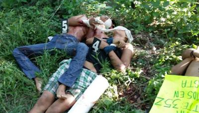 Hallan 6 ejecutados 5 en Gutierrez Zamora y uno en Tecolutla Veracruz