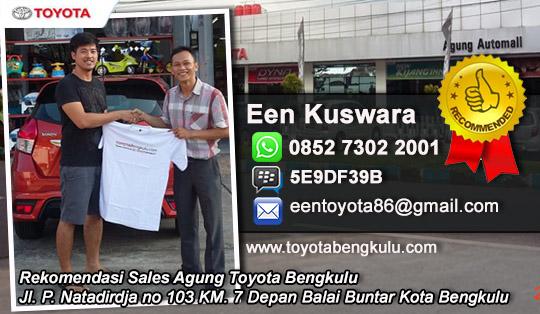 Rekomendasi Sales Terbaik Agung Toyota Bengkulu