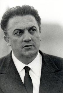 Federico Fellini. Director of La Dolce Vita