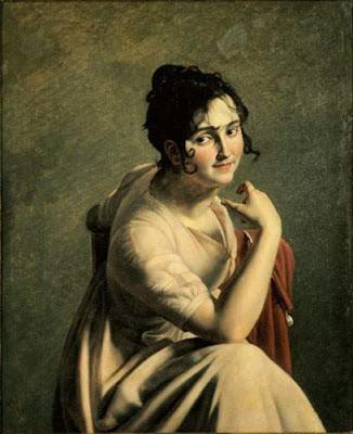 Portrait présumé de Mademoiselle Georges de la Comédie Française, Pauline Auzou