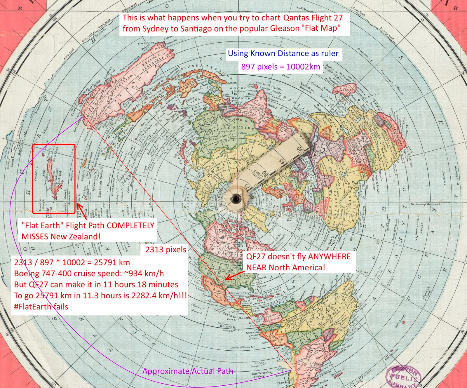 Flat Earth Insanity: Catalog of Flat Earth Claims & Refutations