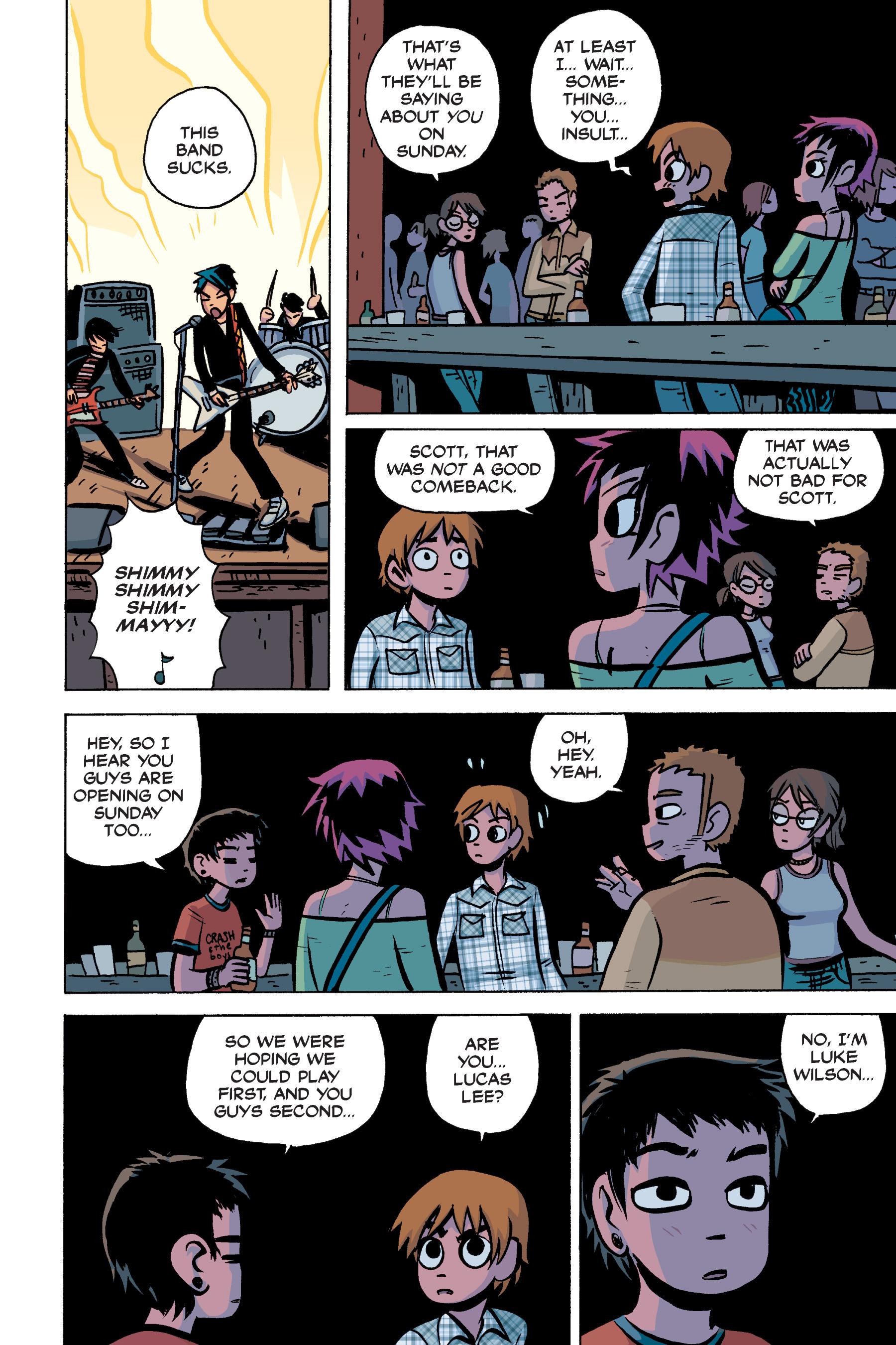 Read online Scott Pilgrim comic -  Issue #2 - 179