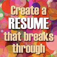 creating a strong resume, creating an effective resume, resume, creating a reference list, preparing your references,