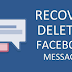 Recovery Of Deleted Facebook Messages