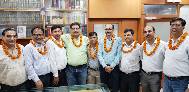 Faridabad Income Tax Bar Association elected unopposed election, formed new executive