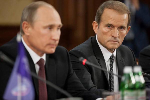 Медведчук: Росія - не агресор, а події на Донбасі - лише протест