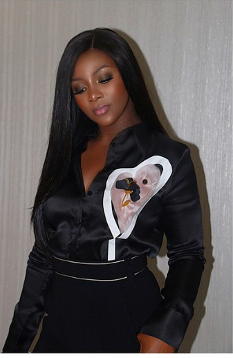 Genevieve Nnaji steps out in style for Lagos Fashion and Design Week