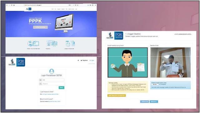 Cara Mendaftar CPNS P3K di Website sscasn.bkn.go.id