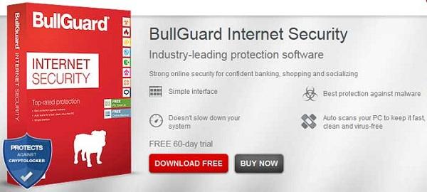 تحميل برنامج الحماية 2017 Bullguard Internet Security