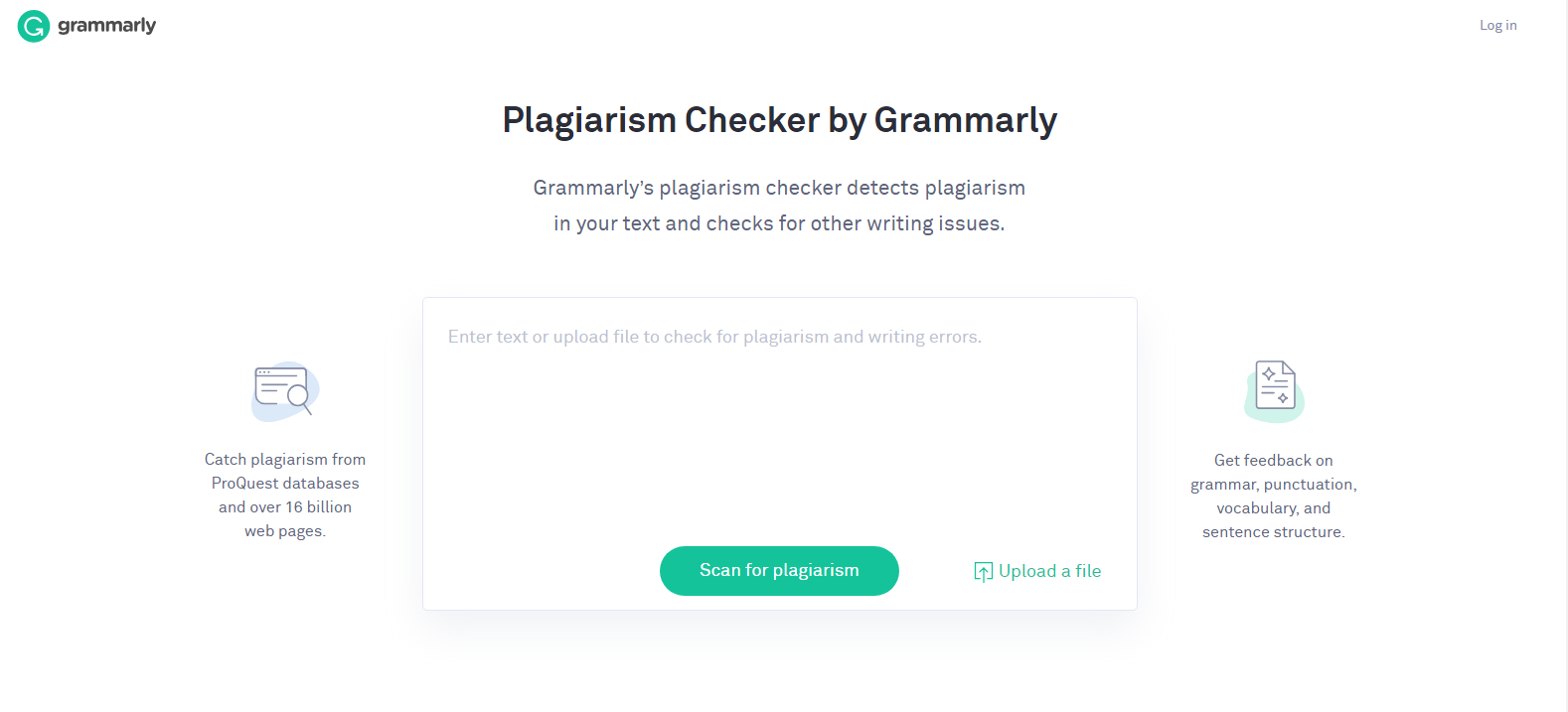 Grammarly copyright checker