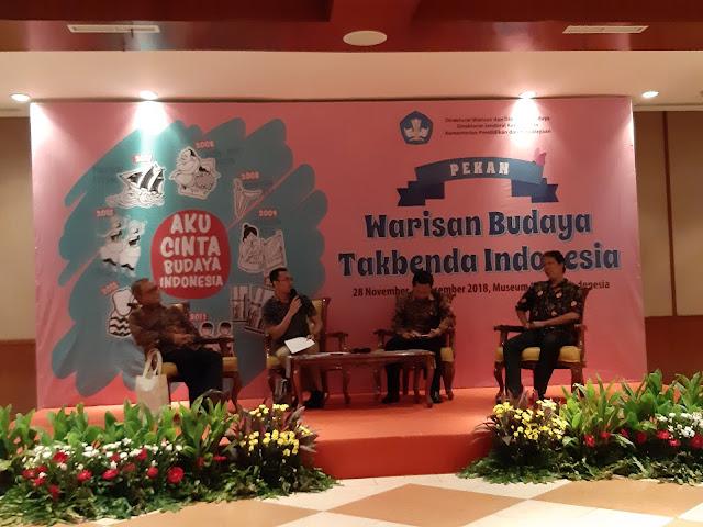 Warisan Budaya Takbenda Indonesia