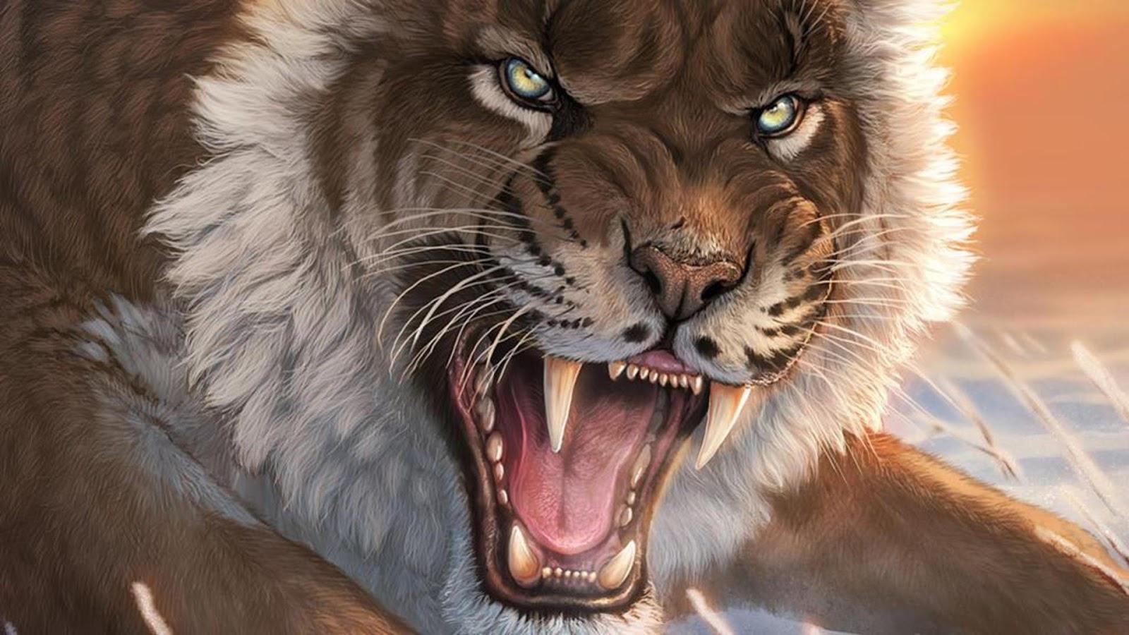 Imagen De Dibujo 3d De Gato Para Fondo De Pantalla: Imagenes De Tigres Para Fondo De Pantalla Hd