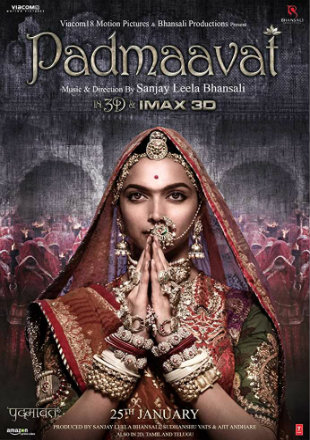 Padmaavat 2018 HDRip 450MB Full Hindi Movie Download 480p Watch Online Free bolly4u