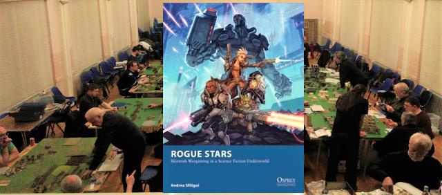 Falkirk District Wargames Club Rogue Stars playtest 2017